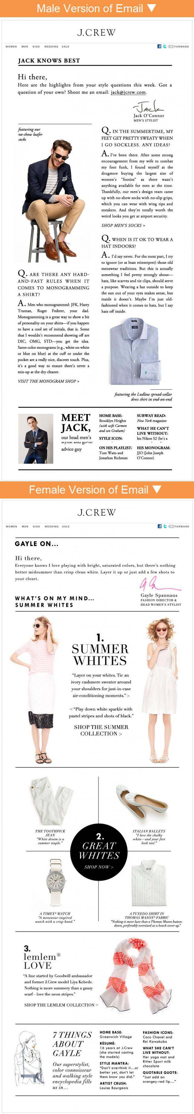View this J.Crew email on Pinterest