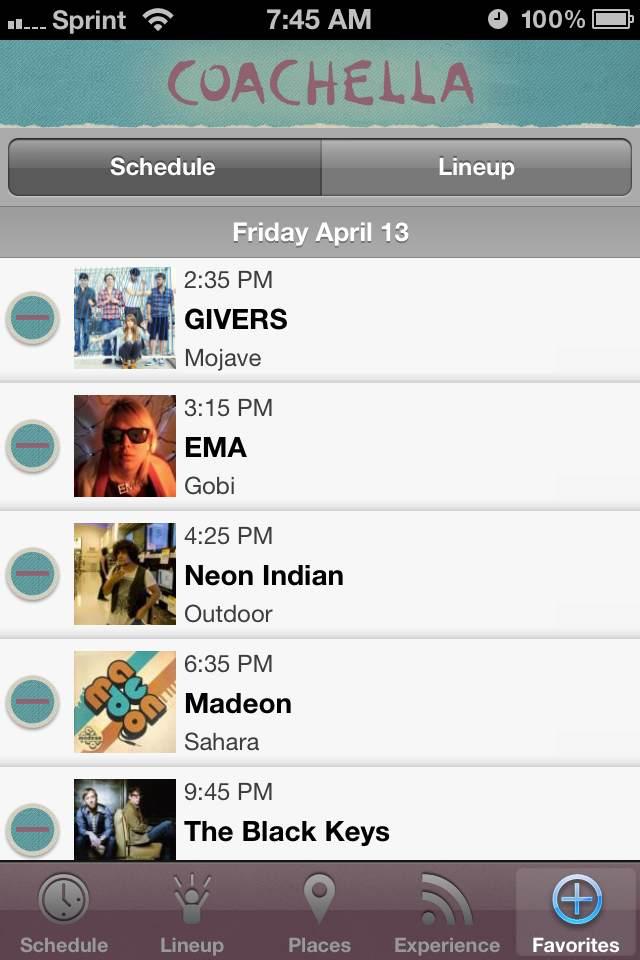 coachella mobile app lineup