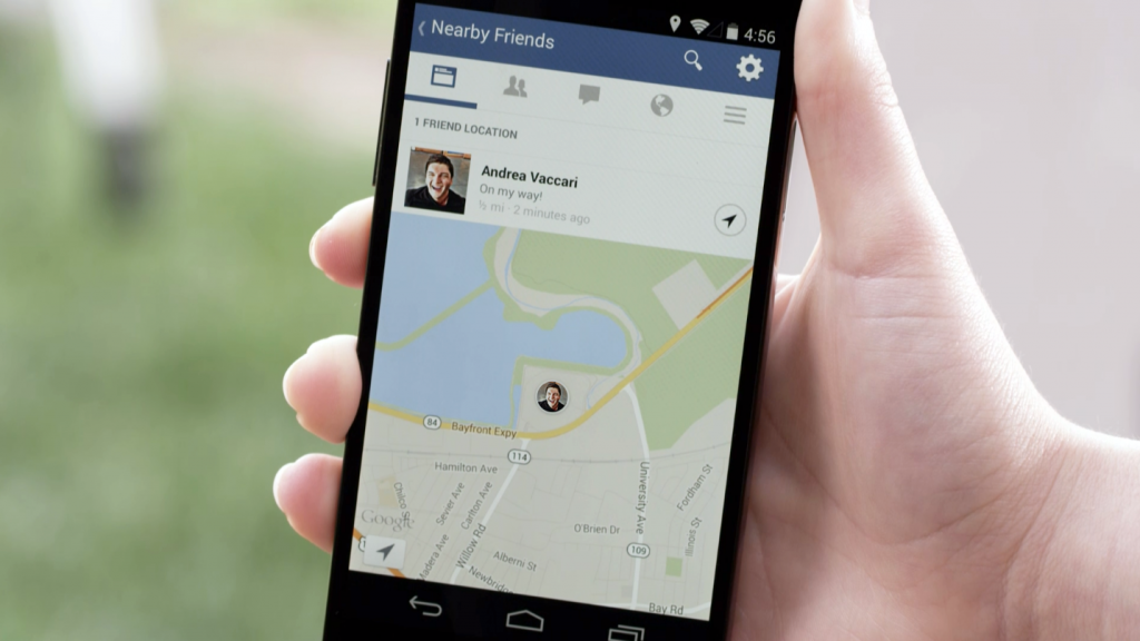 """Facebook's """"Nearby Friends"""" Could Bring New Opportunities for Location-Based Marketing"""