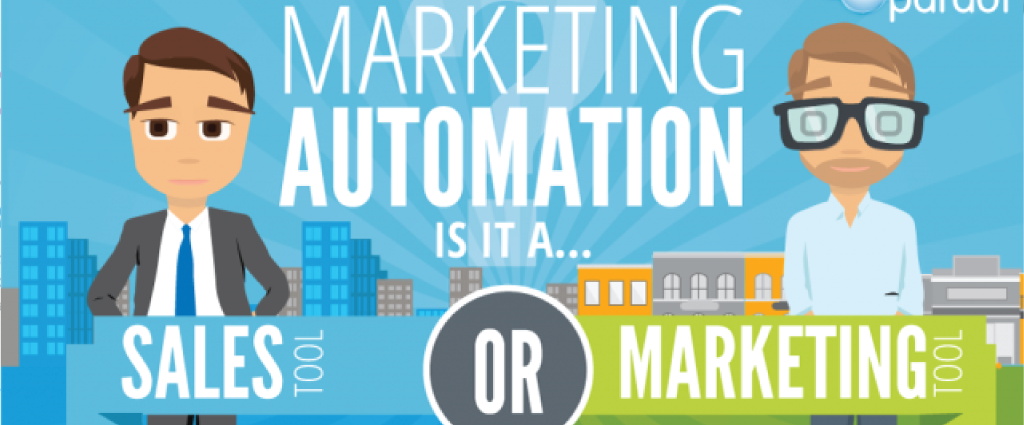 Marketing Automation: Sales Tool or Marketing Tool? #infographic