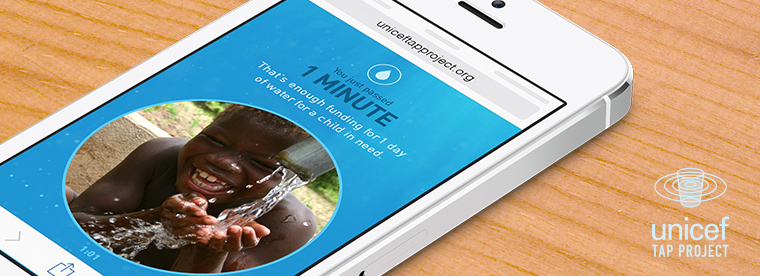 @UnicefUSA Launches New Mobile #TapProject Campaign