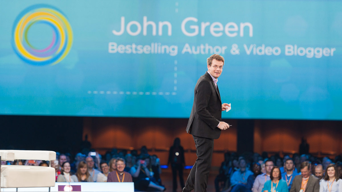 Interview with Bestselling Author John Green: Crash Course in Community Building and Content Creation