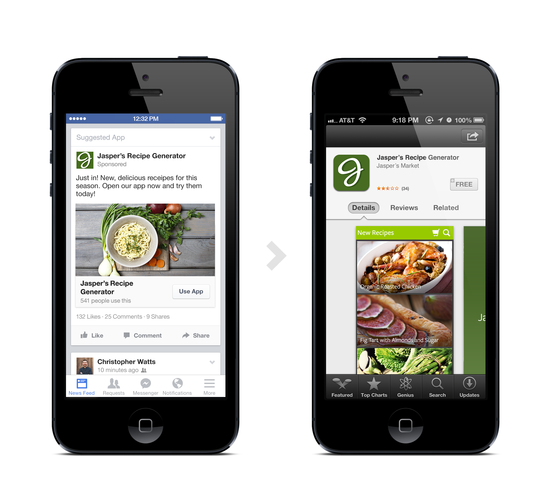 Facebook Goes Deep with Links on Mobile App Install Ads ... |Facebook Mobile App