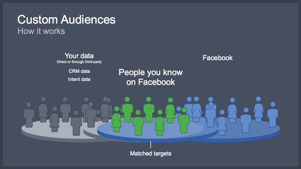 Image result for custom audience facebook