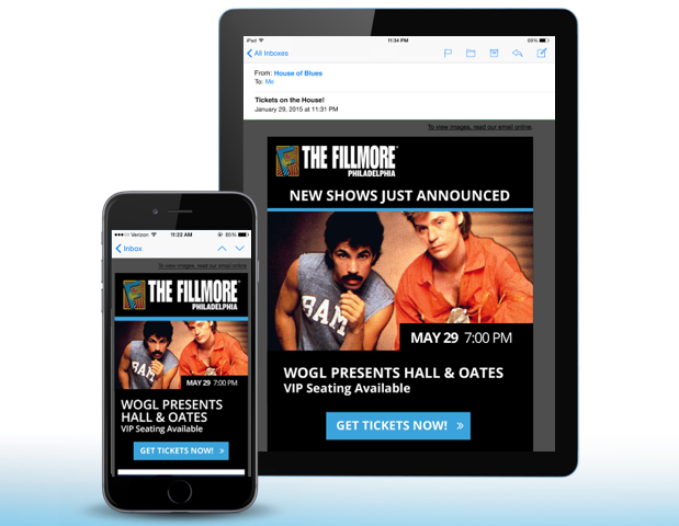 Been There, Done That: House of Blues' Adventures in Mobile Responsive Email Templates